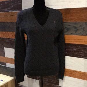 EUC Ralph Lauren Sport XL black sweater